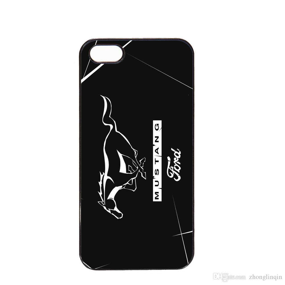 New popular ford mustang logo phone case for iphone 5c 5s 6s 6plus 6splus 7 7plus samsung galaxy s6 s7e cell phone pouches customized cell phone cases from