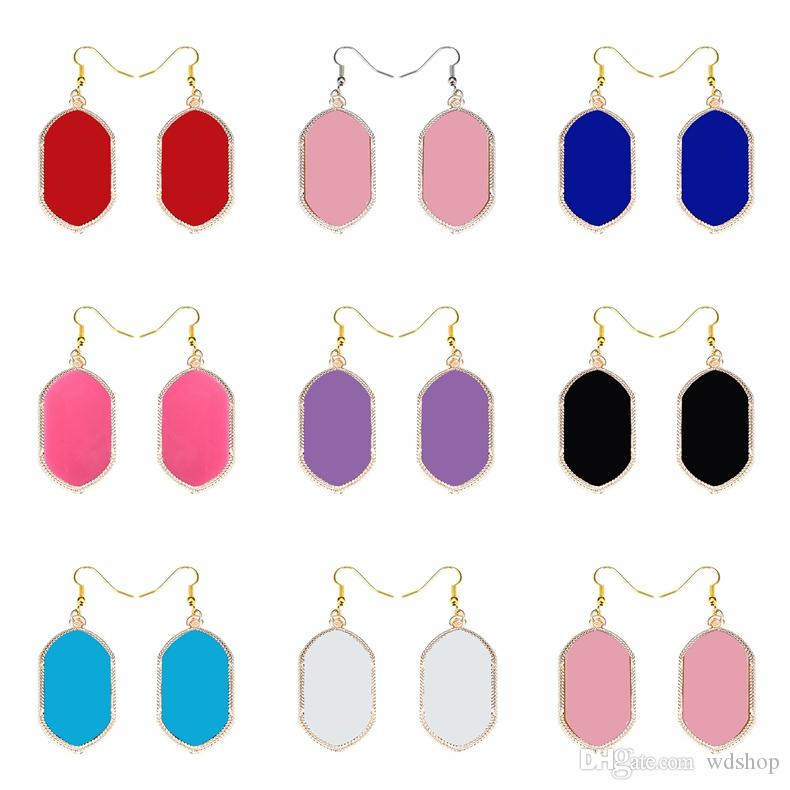 Fashion Kendra Style Smooth Surface Gold Dangle Earrings Signature Earrings For Women Wedding Party Jewelry Drop Shipping