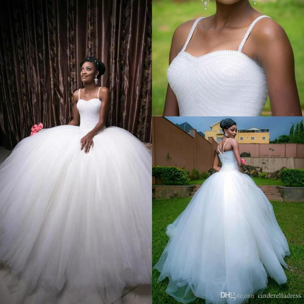 8ba62b6203 Super Ball Gown Tulle Wedding Dresses 2018 Middle East White Beading Top  Layers Floor Length Spring Plus Size Bridal Wedding Gowns Off White Wedding  Dresses ...