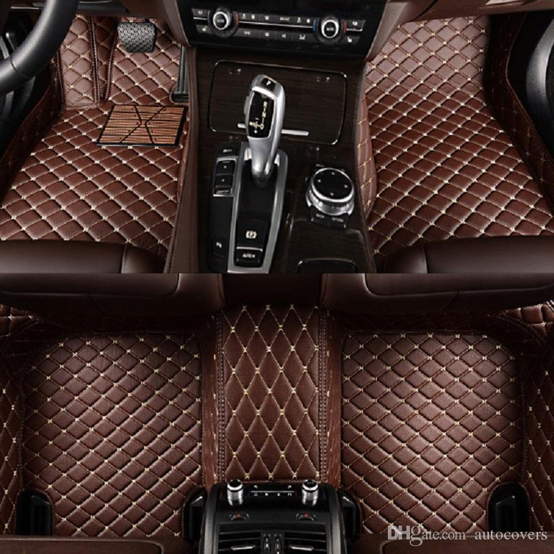 2019 Custom Fit Car Floor Mats Specific Waterproof Pu Leather With