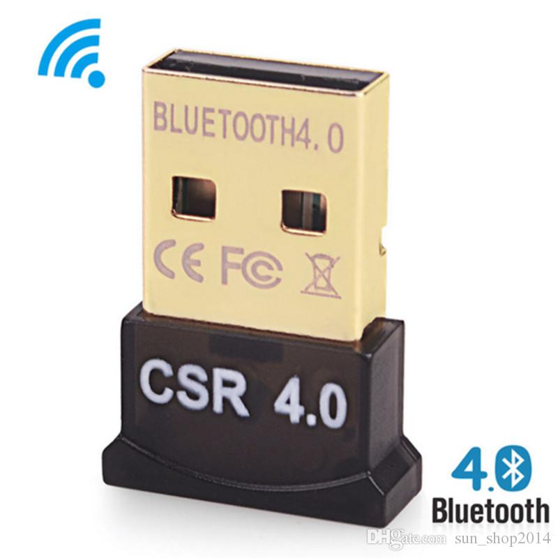 Bluetooth Adapter USB CSR 4.0 Dongle Receiver Transfer Wireless for Laptop PC Computer