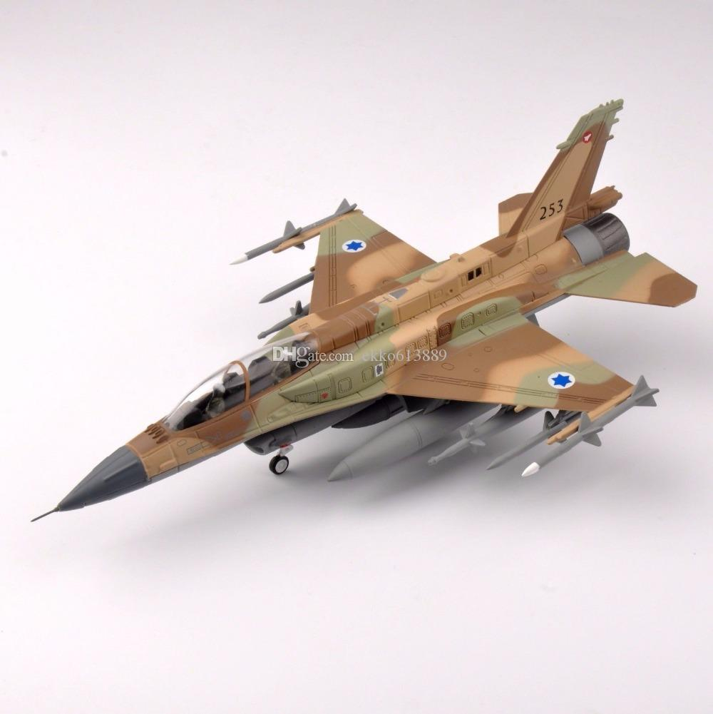 1/72 Scale Diecast ISRAEL 2015 F-16I Block-52 Airplane Aircraft Model Collection For Birthday gift