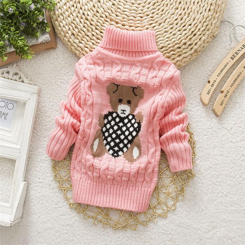 28c3da570c59 ExactlyFZ Baby Girls Boys Autumn Winter Cartoon Sweaters Children ...