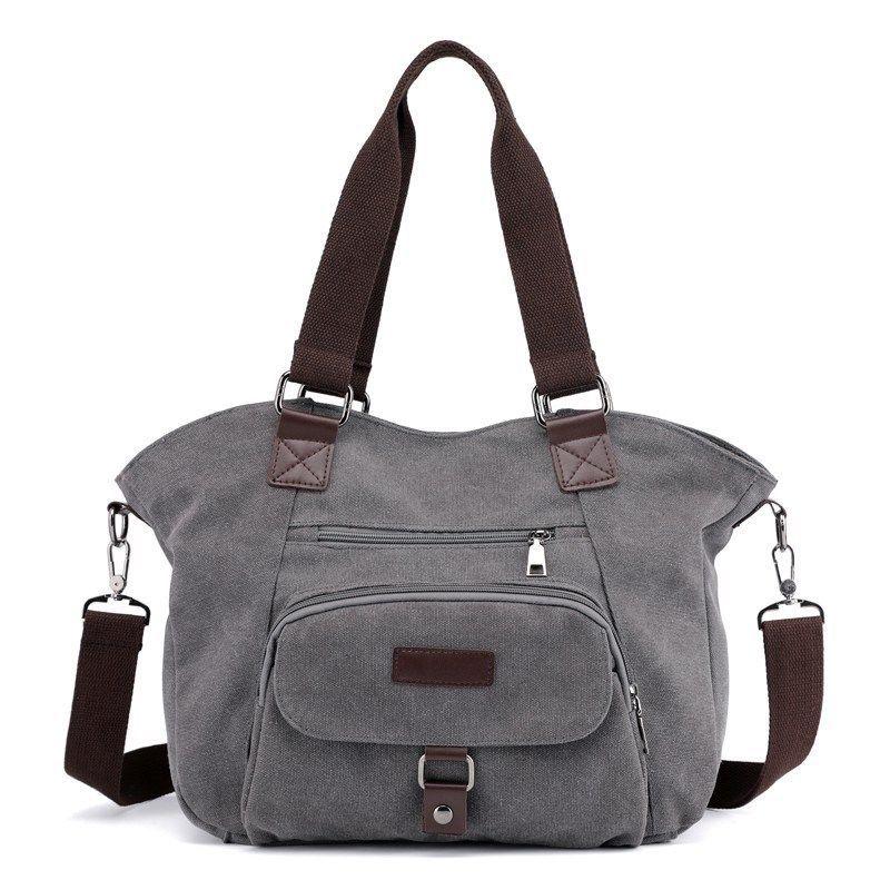 Fashion   Hot Women Canvas Tote Bags Lady Crossbody Messenger Bags Shoulder  Hobo Bag Handbags Cross Body Bags Handbags Wholesale From Lucyshoe 376f5fe0613f8