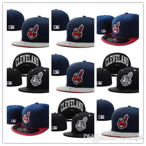da58b8206bc Top Selling Cleveland Indians Fitted Hats Snapback Cap Men Women Basketball  Hip Pop Lids Hats Visors From Hotcap6