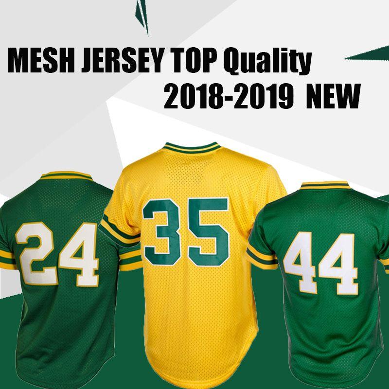 369589ab2 Oakland Athletics 24 Rickey Henderson 35 Rickey Henderson 44 Reggie ...