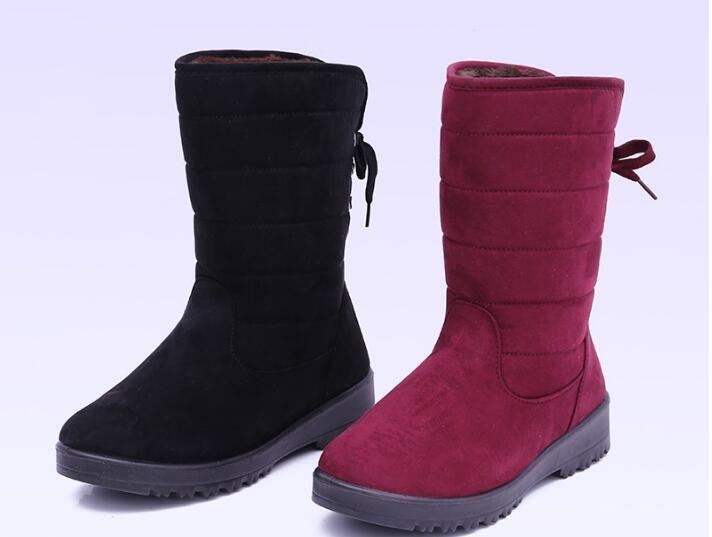 20d45c8e4a Shoes Woman Boots Women Botas Mujer Botines Mujer 2018 Winter Warm Fur  Botas Feminina Bottes Femme Botines Platform Boots Fur Boots Black Knee  High Boots ...