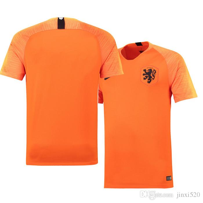2019 Thai Quality 2018 2019 Netherlands Home Orange Soccer Jerseys 18 19  Custom Made Robben SNEIJDER V.PERSIE MEMPHIS Away Blue Football Shirt From  Jinxi520 ... c7a00291d