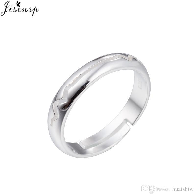 Anel Bff Sister Friend Bijoux For Bague Gifts Ring Jewelry Engagement Mom Women Accessoires Idea Wave Homme Jisensp Silver iOZTXkuP