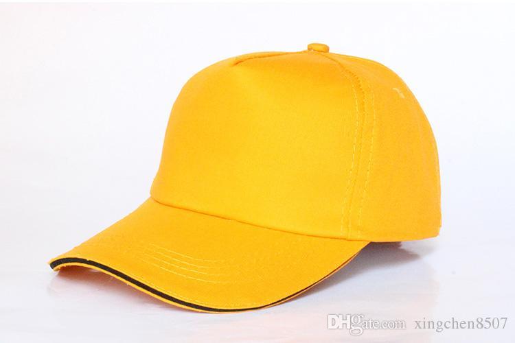 Cappucci di sport all'aperto del berretto da baseball in bianco di / che stampano i cappelli di pubblicità che i cappelli adulti del sole possono su misura progettazione della società di stampa il regalo