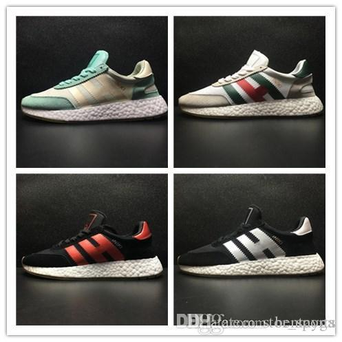 pretty nice 1fa63 af361 2018 Iniki Runner Boo Neighborhood X Outdoor Casual Running Shoes Grey Core  Blue Triple Black Green Red Sneakers Mens Womens Shoes Size36 45 Cheap Shoes  Men ...
