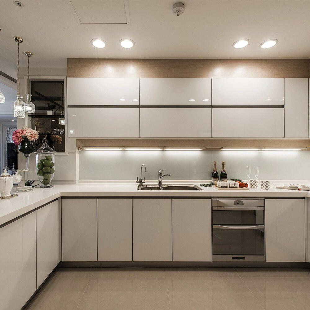 Kitchen Cabinets Lighting: 2019 Aluminum LED Rigid Strip Light LED Bar Light Dimmable