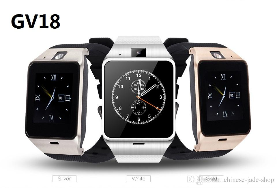 Aplus Gv18 Smart Watch 1.5INCH Waterproof Bluetooth Smartwatch Wrist Android Montre Connecter NFC Wearable Devices