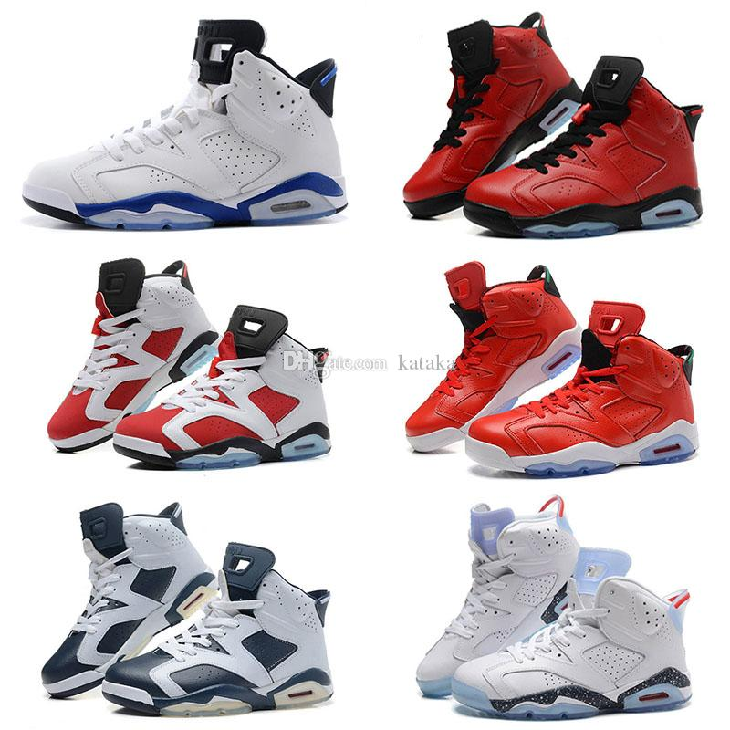 2017 New Mens Jump Men Re Old 6 Xi Basketball Shoes Women Athletic Sport  Shoes Re Old 6s Infrared Retro Sneakers Red Size 36 47 Mens Shoes Sneakers  From ...