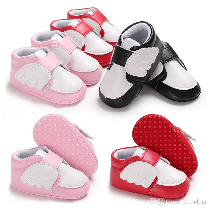 Cute Toddler Baby Soft Bow-knot Girls Dots Kids Polka Bottom Shoes Prewalker New To Have A Unique National Style First Walkers Mother & Kids