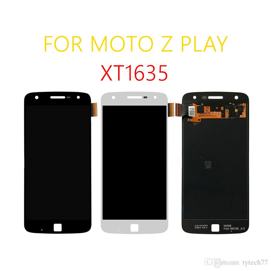 100% Original LCD Display For Motorola Moto Z Play XT1635 Touch Screen Digitizer 5.5 inch 1920*1080 assembly Free Tools