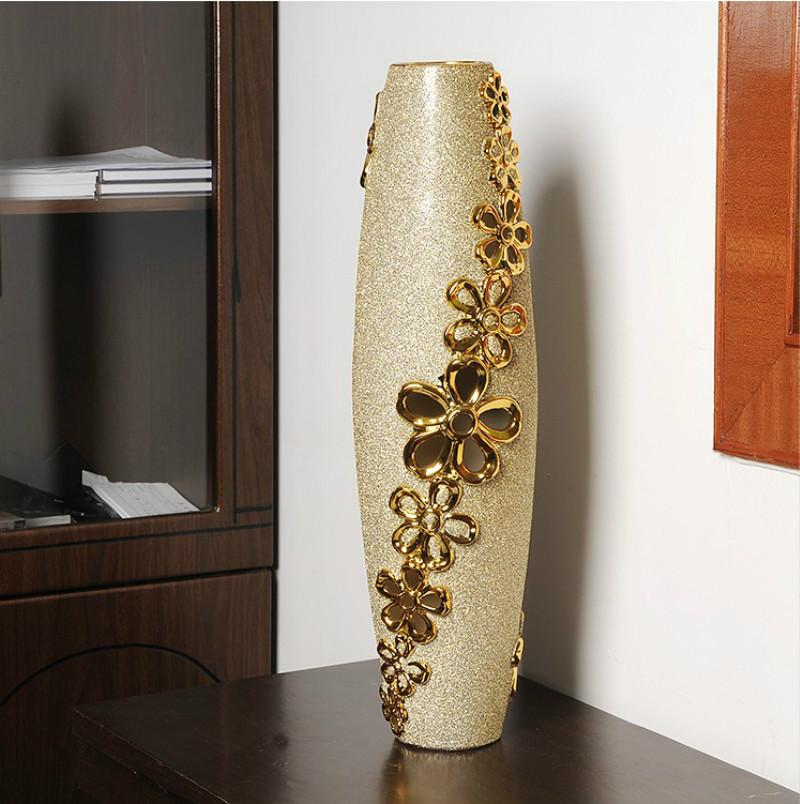 Atmosphere And Elegance Large Vases European Style Home Decorations