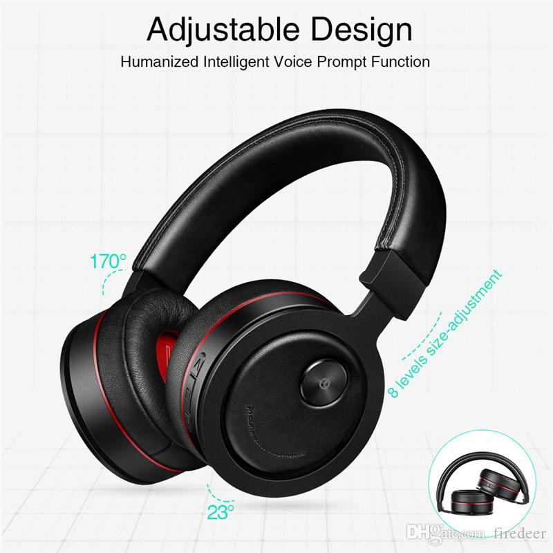 High End Headphones >> Headphones High End Wireless Headphones For Cell Phone Bluetooth Headset With Microphone Bass Headphone Support Tf Card For Pc
