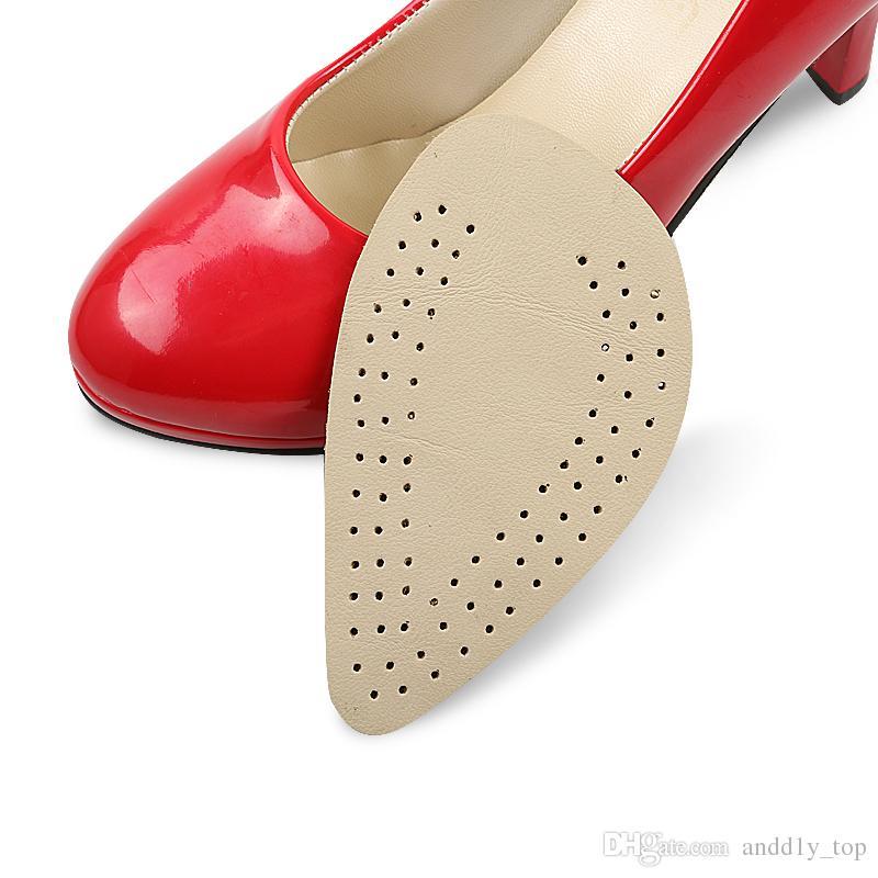 new concept 0774b cfe3d Cuscinetti per l avampiede addensare Tappetino anti-abrasione con tacco  alto Scarpe antiscivolo da donna per scarpe da uomo in pelle cuscino  interno ...