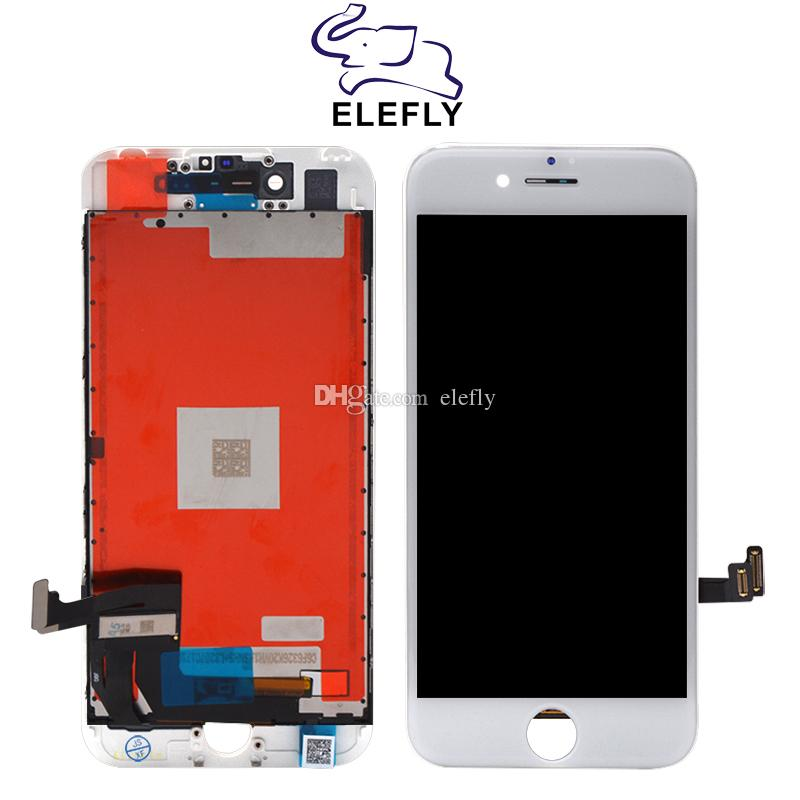 Quality A+++ LCD Display For iPhone 7 LCD Screen Touch Screen Digitizer  Full Assembly Replacement Black & White With Free DHL Shipping