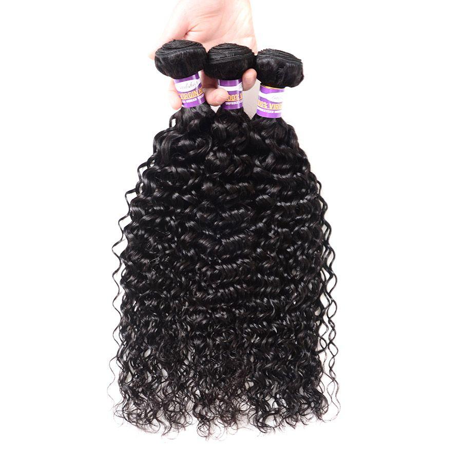8A перуанский девственные волосы волны воды пучки перуанский человеческих волос пучки расширения 3 4 шт. естественный черный цвет волос ткет может быть окрашен