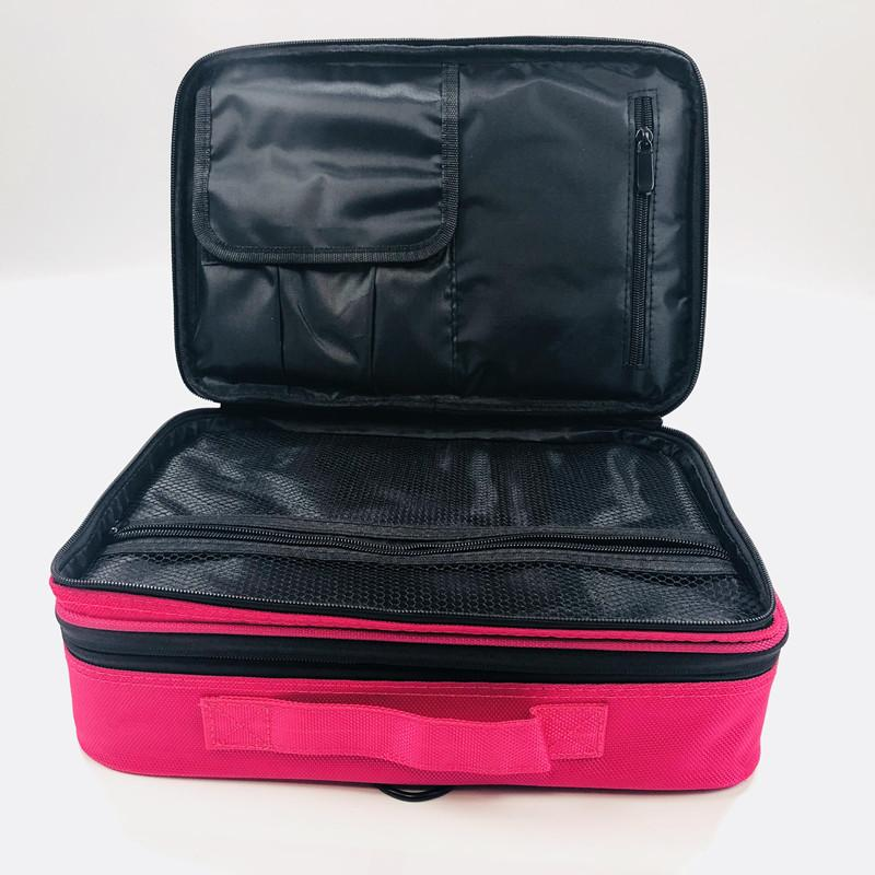 Large Capacity Storage Bag Disassembly Suitcases Travel Cosmetic Bag  Waterproof Cosmetic Case Makeup Organizer Travel Pouch Bags Makeup Boxes  Beauty ...