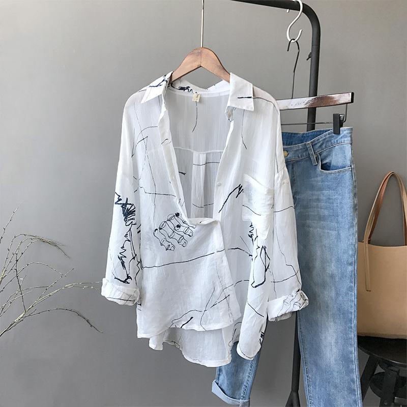 89c3214c4 Compre Cardigan Feminino Novo Duplo 2018 Camisas Retro