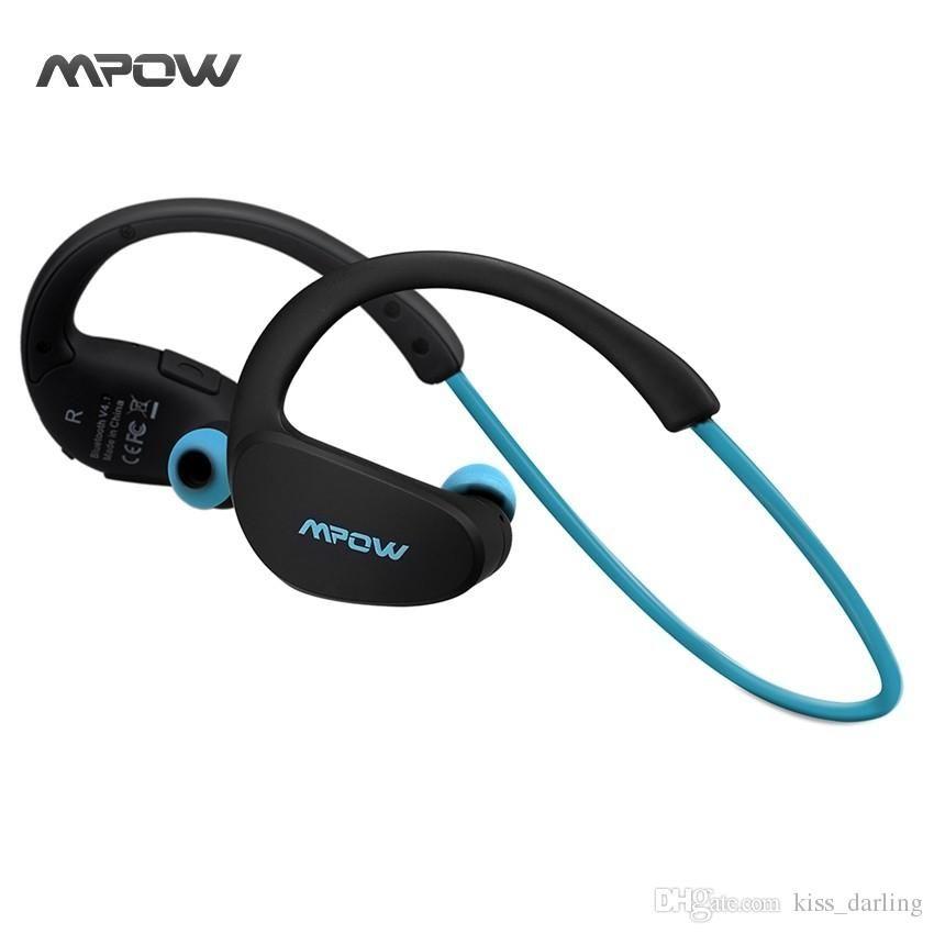 216472524e0 Mpow MBH6 Cheetah 4.1 Bluetooth Headset Headphones Brand Logo Wireless  Headphone Microphone AptX Sport Earphone For IPhone Android Phone Noise  Cancelling ...