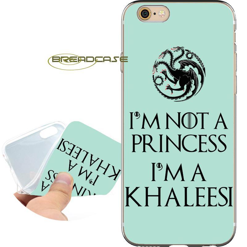 Coque Game Thrones Cotações Shell Casos para iPhone 10 X 7 8 6 S 6 Mais 5S  5 SE 5C 4S 4 iPod Touch 6 5 Limpar Macio TPU Capa de Silicone