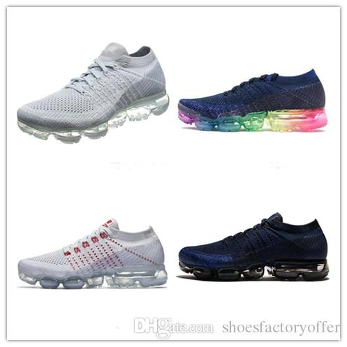 2018 New Vapormax 2.0 Mens Cushion Running Shoes For Men Off Sneakers Fashion Athletic Jogging Walking Sports Designer White Run Shoes how much get authentic sale online deals sale online collections cheap online fuPaSkKOn7
