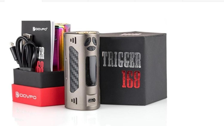 Kết quả hình ảnh cho trigger 168w box mod