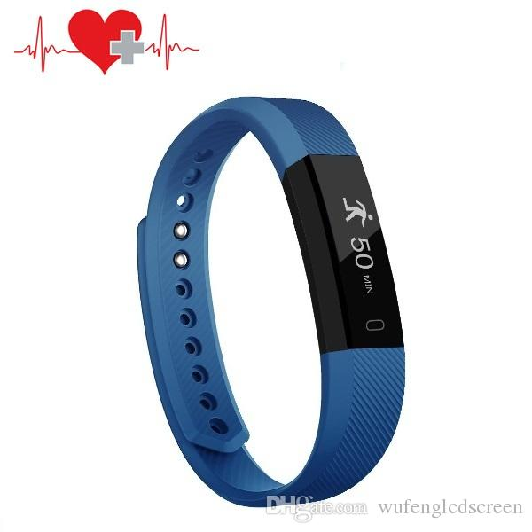 IP67 waterproof bluetooth smart bracelet with remote camera best smartphone  watch sports fitness tracker heart rate monitor