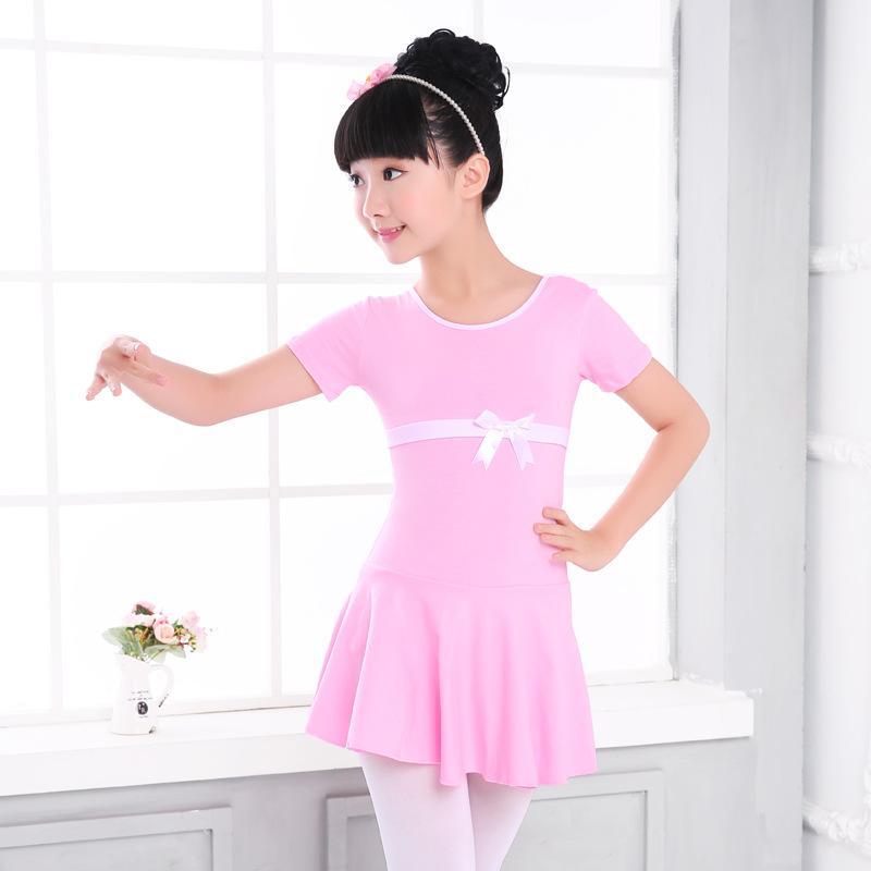 6861bf70ee Compre 3 17Y Meninas Algodão Prático Ballet Vestido Rosa   Azul De Verão  Ballet Collant Dança Vestido Para Crianças Bailarina Roupas Dancewear De  Alfreld
