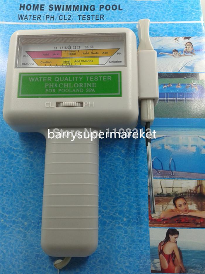 Wholesale- Portable Water Quality PH/CL2 Chlorine Tester Level Meter ...