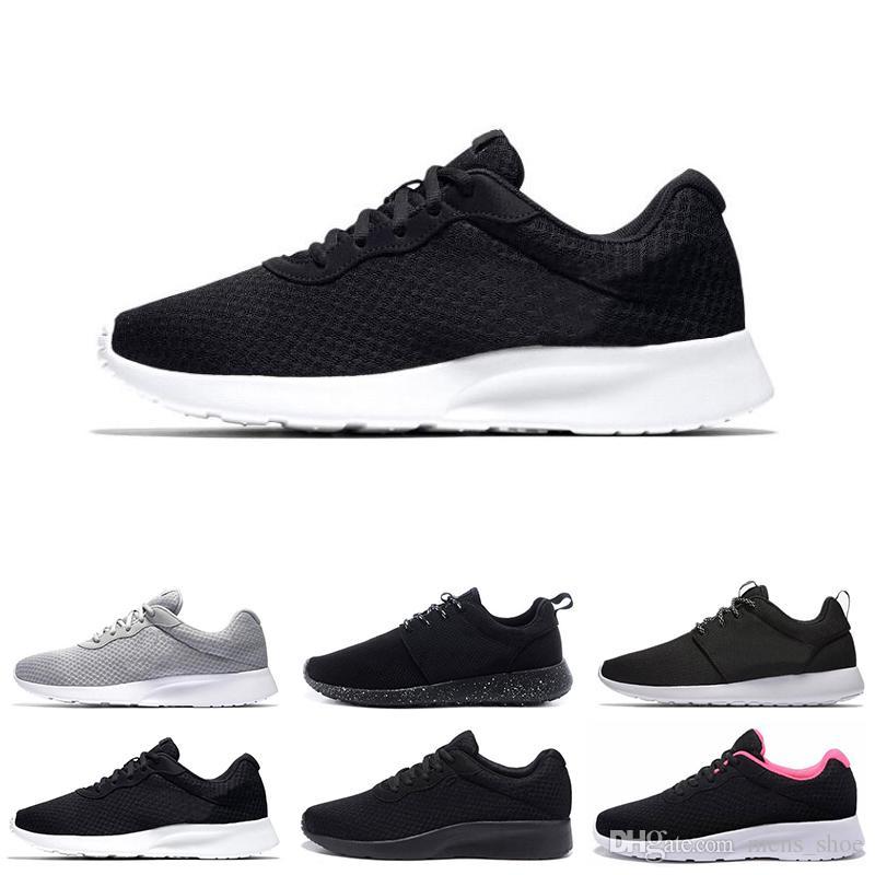 91c28a18f33ca Hot Run TANJUN Shoes Black White Grey Sneakers Mens Women Sports Running  Shoes London Olympic Run Shoe Mens Trainers Size 5.5 11 Hoka Running Shoes  Shoes On ...