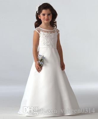 0ddd45086f 2019 New Girls Piano Lace Drill Tutu Wedding Dress / Can Customize The  Color Of The Dress You Want // More Styles Into The Store To Pick Purple  Flower Girl ...