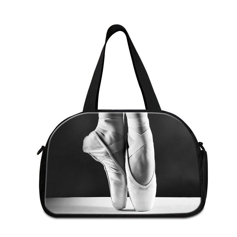 a3f14e05d353 Ballet Lightweight Travel Bag For Women Personalized Duffle Bag Large  Shoulder Gym Bag With Shoe Pocket For Teen Girls Travel Carry On Bags  Duffel Bags Book ...