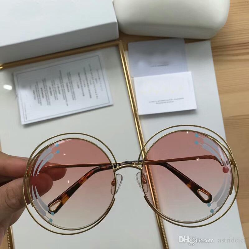 8a3cf2de06ca4 Fashion BEAUTIFUL Luxury!Women s Round Sunglasses Brand Designer Glasses  High Quality Eyeglasses Outdoor Eyewear Metal Frame Eye glass Frame