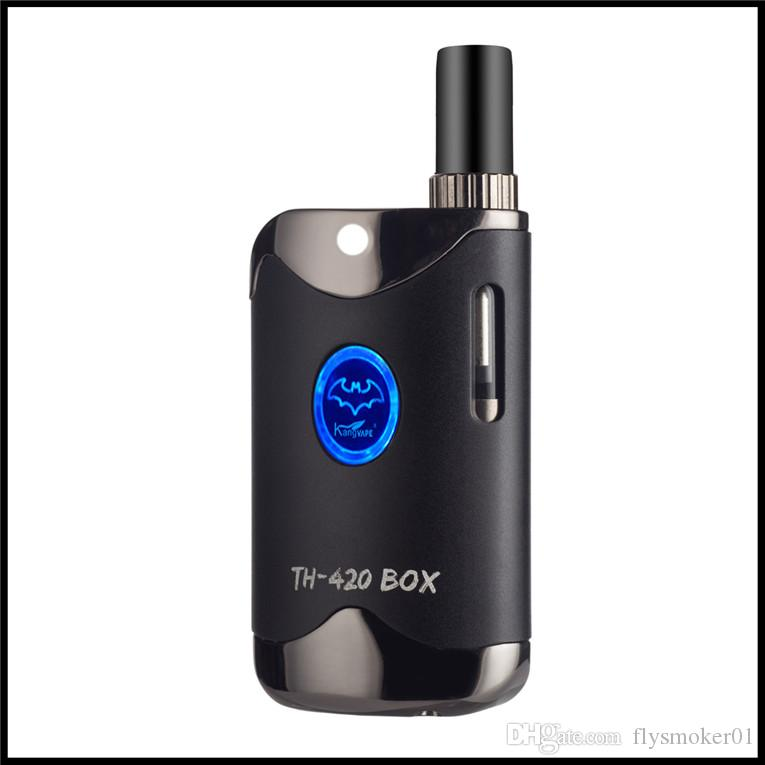 510 glass tank vaporizer mod mini box mod e cigarette starter kit variable voltage smoking co2 oil ceramic coil cartridge vaping set
