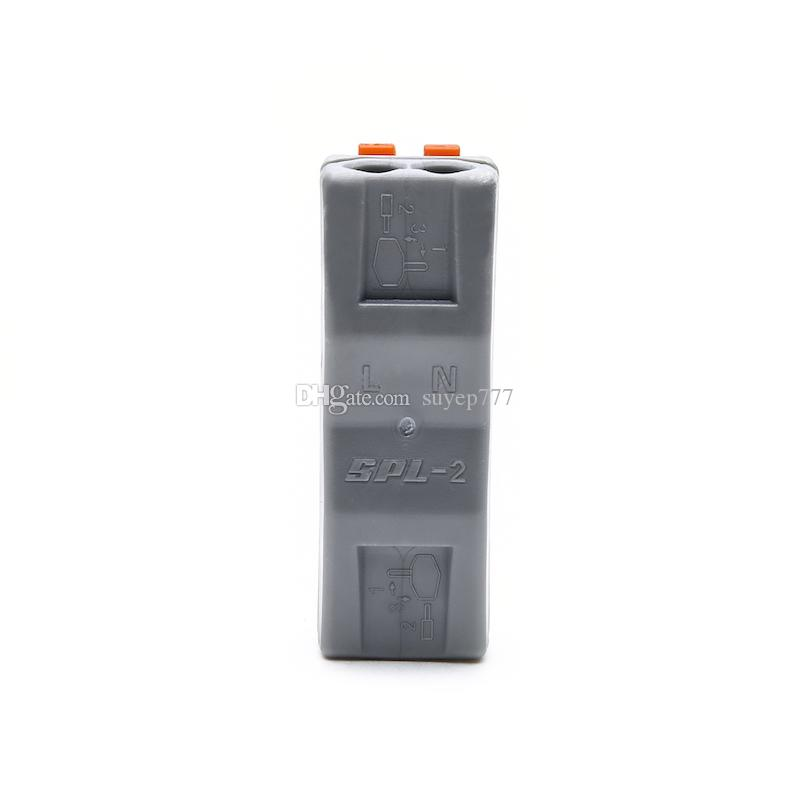 SPL-T-212 222-412 Electrical crimp Wiring Terminals Household wire Connectors 4 pin cable Connector
