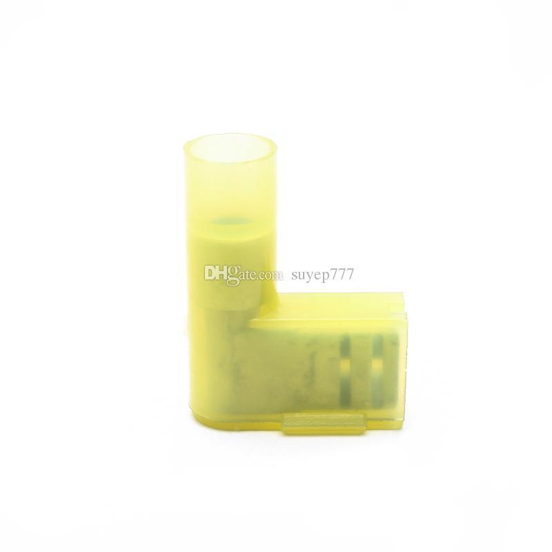 20 ADET Terminalleri FLDNY5.5-250 Naylon pirinç Bayrak Kadın Terminali yalıtımlı Tel Konnektörler AWG 12-10 10A 0.5-1.5mm2 Sarı