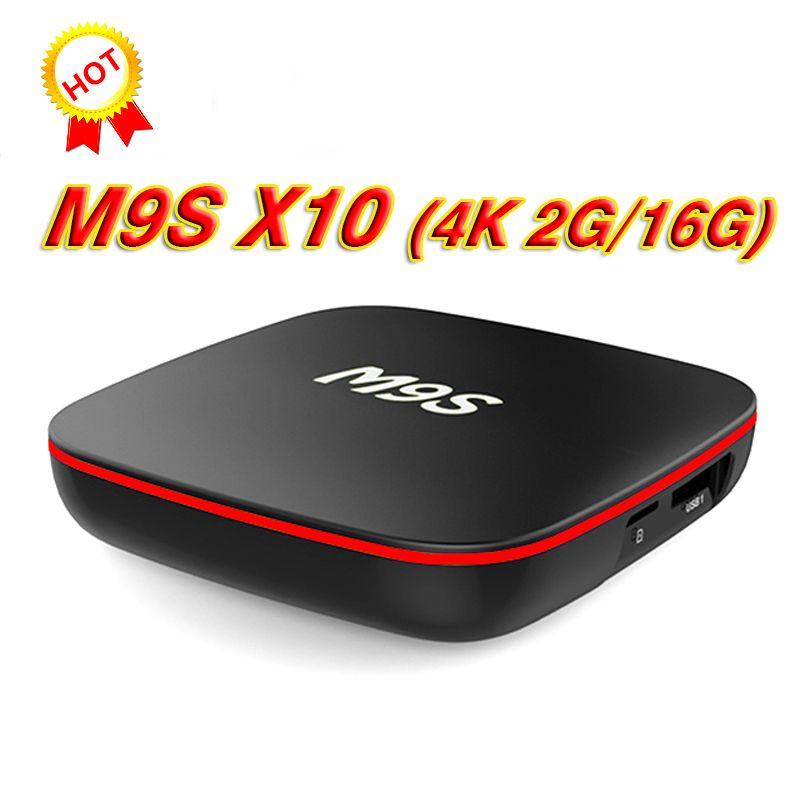 2GB RAM 16G Bluetooth Android 7 1 TV BOX M9S X10 RK3229 Smart Box Quad Core  HDMI 2 0 WIFI H 265 4K Media Player BET TX3 T95X T95N T95M