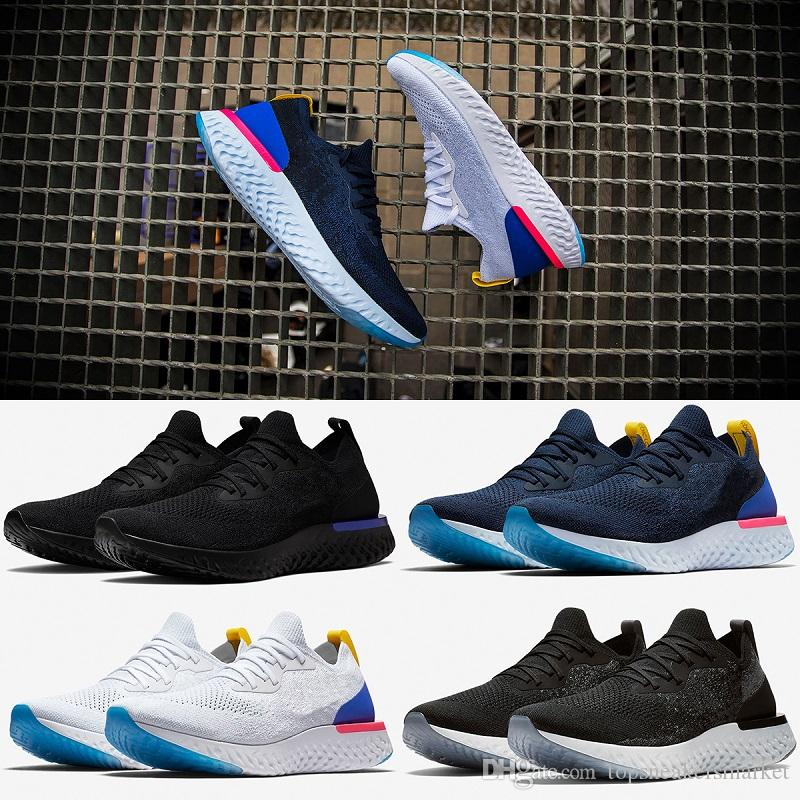 2018 Wholesale women's and men black gray blue sports shoes fashion summer portable sports casual shoes size 36-45 really cheap sale low price footaction for sale visa payment online footaction cheap price dojYM