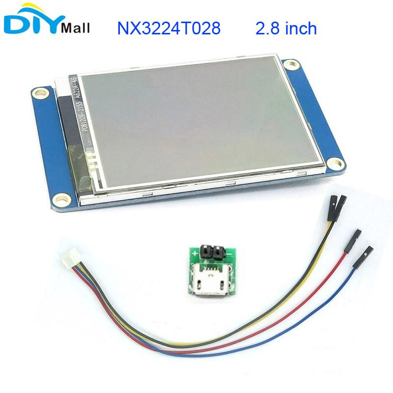 nextion 2 8 tft 320x240 nx3224t028 hmi resistive touch screen uart