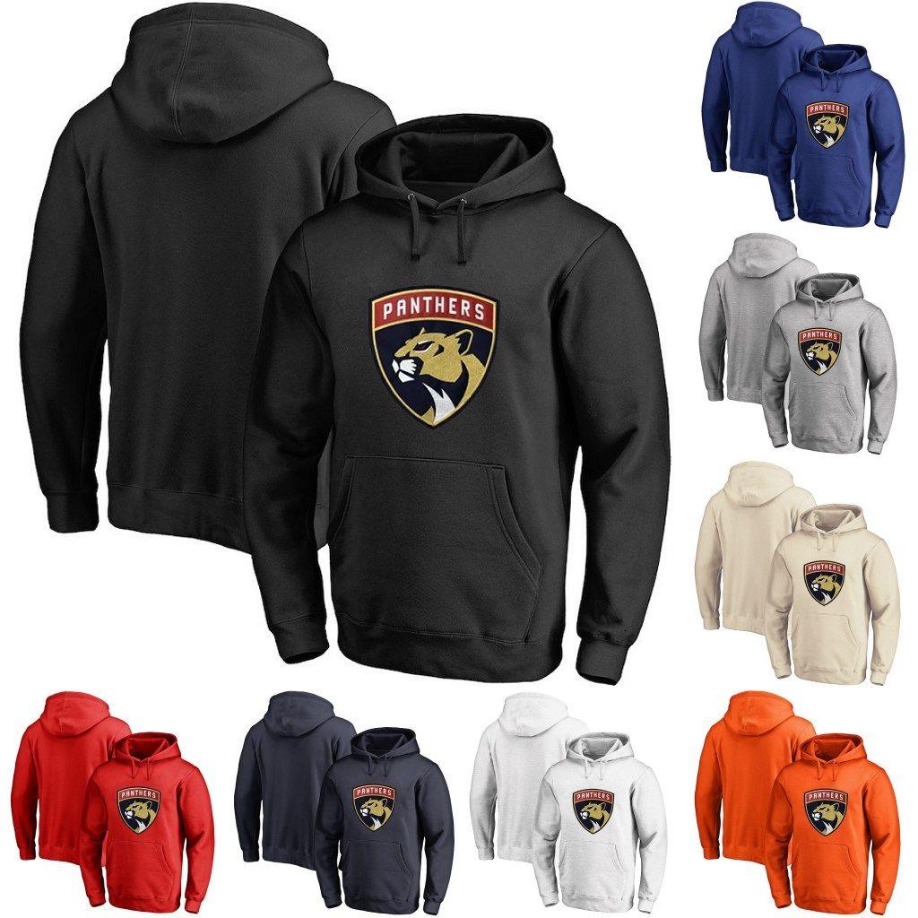 size 40 5b7ed ffaa0 Florida Panthers Hoodie 5 Aaron Ekblad 16 Aleksander Barkov 68 Mike Hoffman  20 Troy Brouwer Personalized Custom Hockey Sweatershirt Jerseys