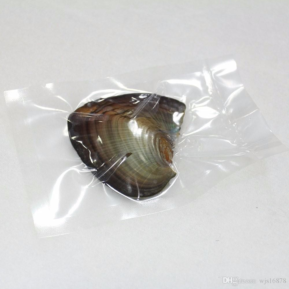 Atacado 2020 Natural Akoya 6-7mm misturar cores de água doce da pérola redonda Oyster para DIY Fazendo a colar Pulseira Anel Jóias