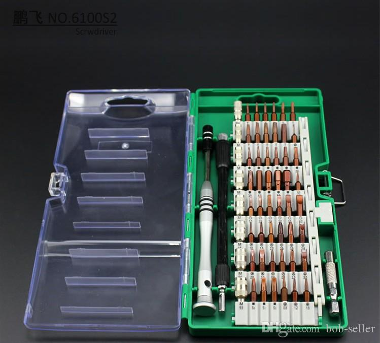 60 em 1 reparação kit de alavanca recondicionado para iphone lcd screen separator ferramentas de reparo do telefone chave de fenda laptop desmontar o kit de ferramentas