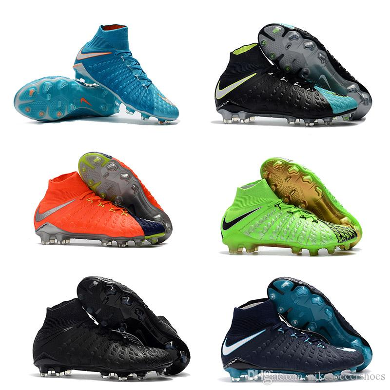 sports shoes cad7d 753b5 Hot Sale Mens Football Boots Hypervenom Phantom III DF FG Cheap Soccer  Shoes Hypervenom Phantom III DF EA Sports Free Shipping Soccer Cleats