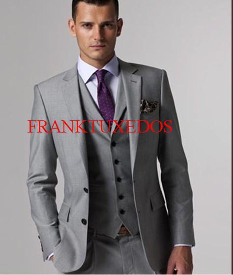 Trajes de chaqueta gris claro