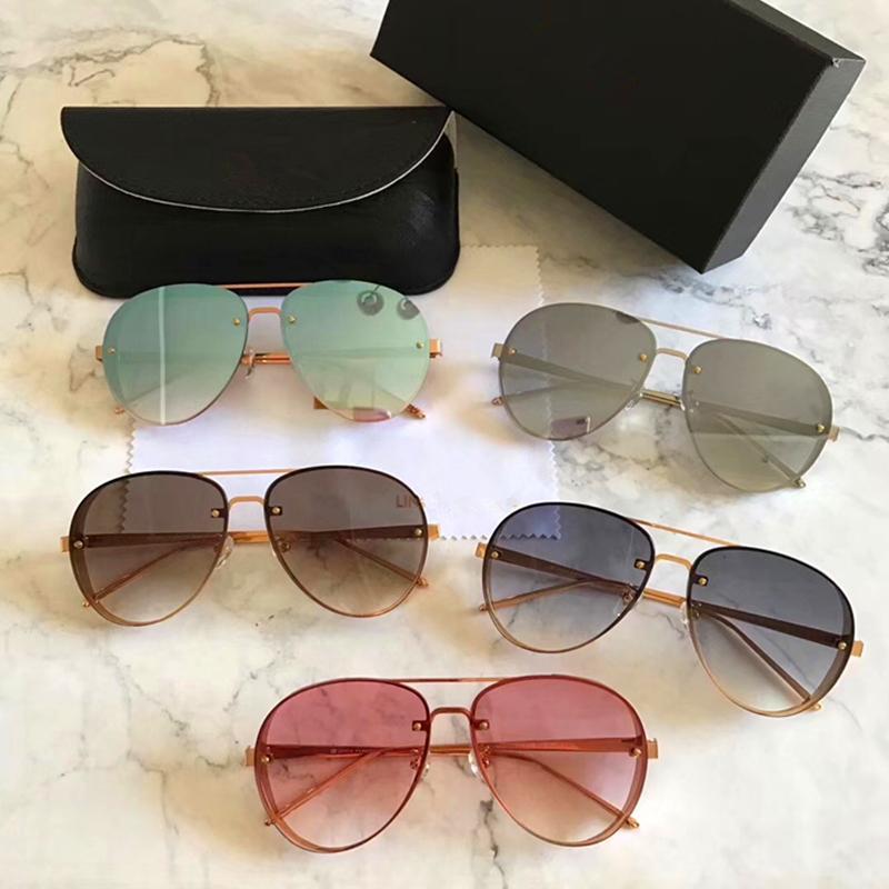 191b1ee4cb7eb Compre 2018 Designer Clássico Retro Óculos De Sol Reflexivo Homem Lfl312  Óculos De Sol Liga Frame Eyewear Óculos De Sol Oculos De Sol Gafas De  Jinbin huang, ...